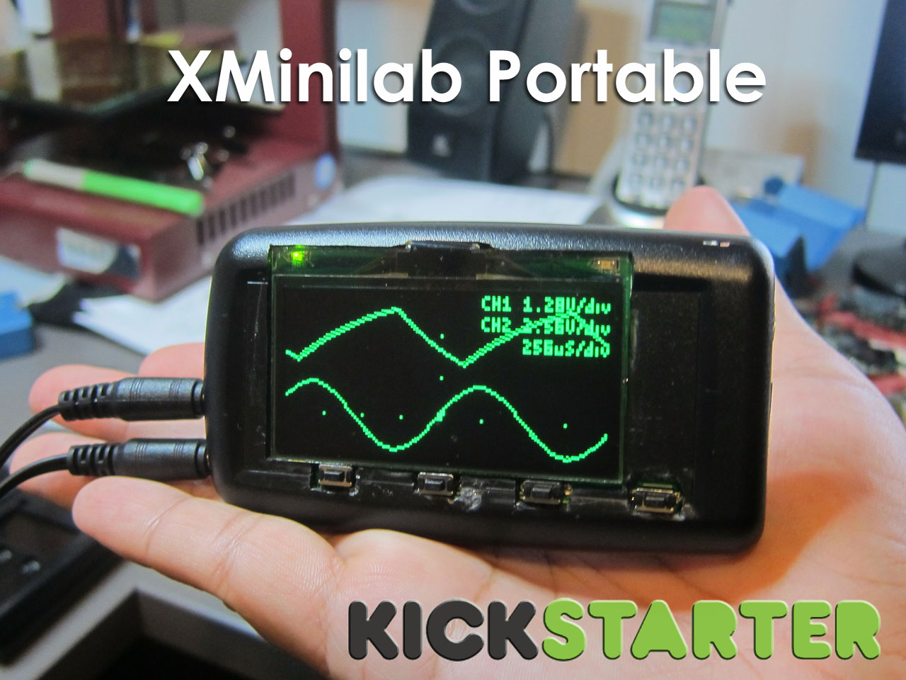 Xminilab Portable on KickStarter